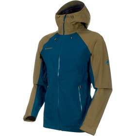 Mammut Convey Tour HS Hooded Jacket Herren poseidon-olive